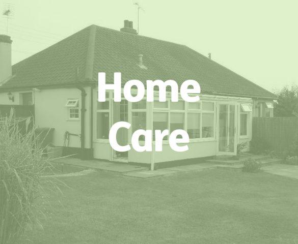bungalow, elderly home care concept
