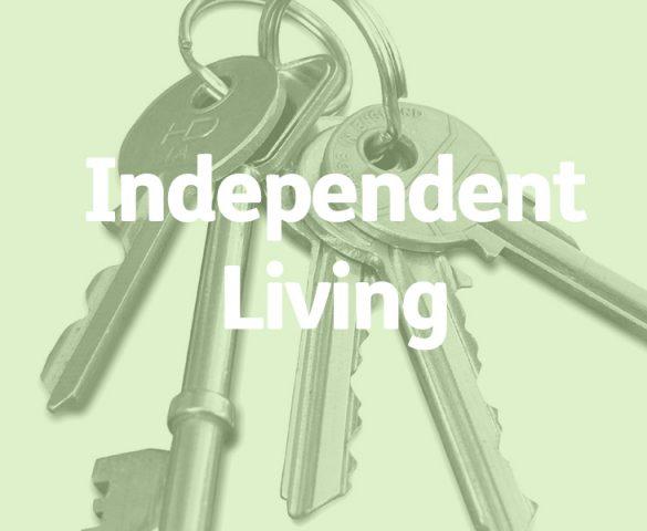 house keys, independent living concept
