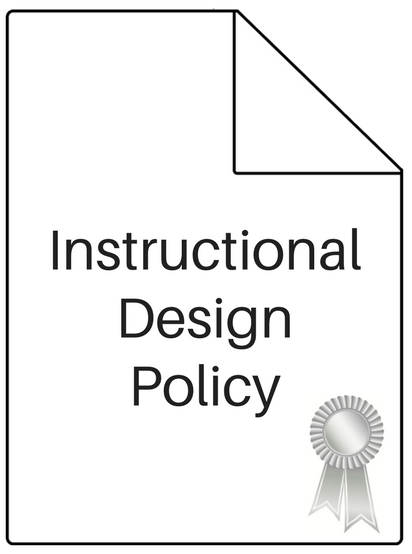 instructional design policy